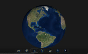 earth 3d map globe