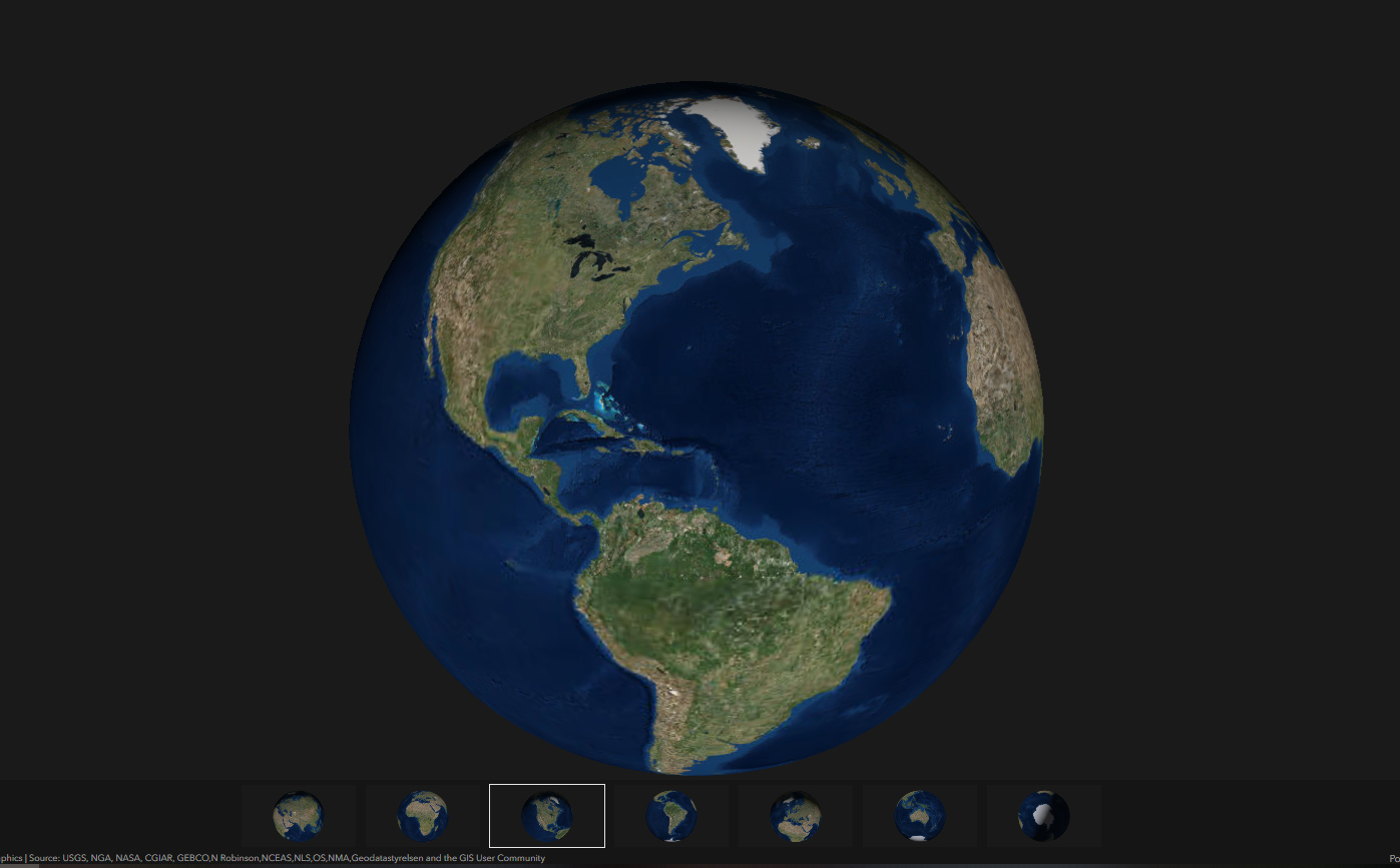 Earth 3D Map   Travel around the world