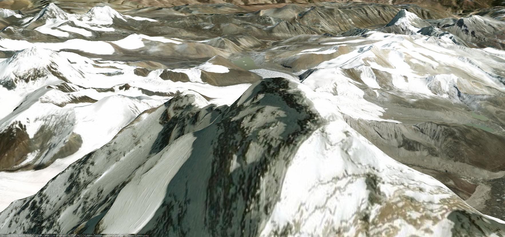 Mount Everest 3D Maps on