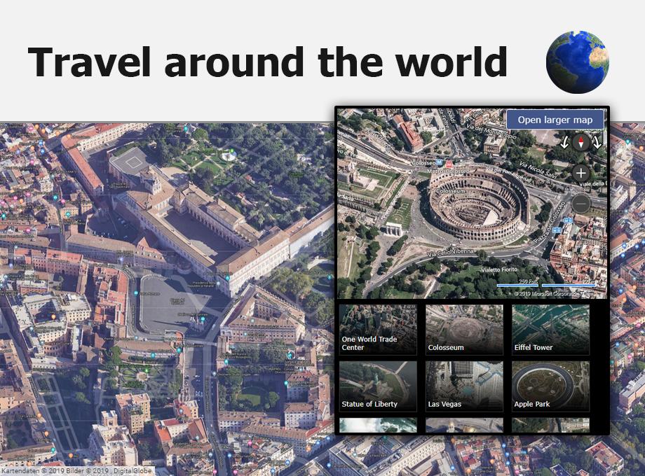 chrome plugin earth 3d map